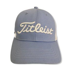 Titleist FootJoy Blue Golf Cap Trucker Adjustable